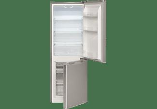 BOMANN KG 320.1  Kühlgefrierkombination, 160 kWh/Jahr, 1430 mm hoch, Edelstahl)