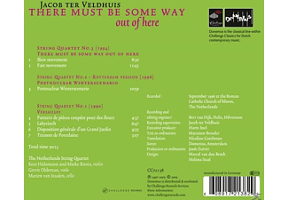 The Netherlands String Quartet - There Must Be Some Way Out Of Here-Three String  - (CD)