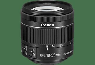 CANON 1620C005 STM 18 mm - 55 mm f/4-5.6 EF-S, IS (Objektiv für Canon EF-S-Mount, Schwarz)