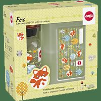 EMSA 518139 Variabolo Fuchs Lunchbox mit Trinkflasche