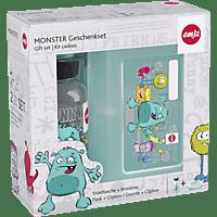 EMSA 518138 Monster Lunchbox mit Trinkflasche