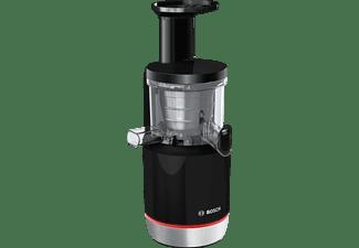 BOSCH MESM731M Slow Juicer 150 Watt, Schwarz/Transparent