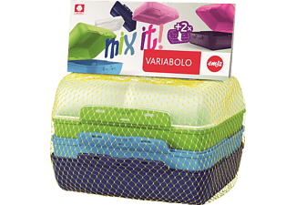 EMSA 517053 Variabolo Boys Lunchbox Blau/Grün/Transparent