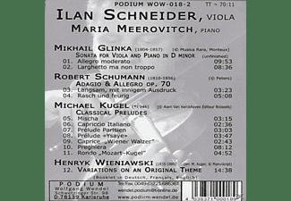 Mari Meerovitch - Werke Für Viola Und Klavier  - (CD)