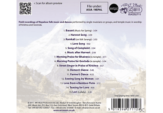 VARIOUS - Folk Songs And Sacred Music From Nepal  - (CD)