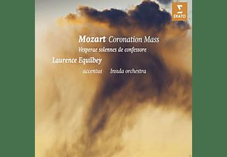Insula Orchestra, Sandrine Piau - Krönungsmesse-Vesperae Solennes De Confessore  - (CD)