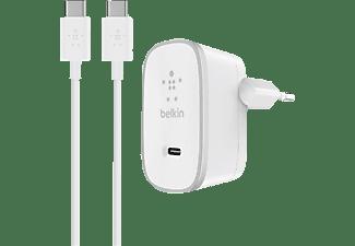 BELKIN F7U008VF05 Ladegerät 15 Watt, Weiß/Silber