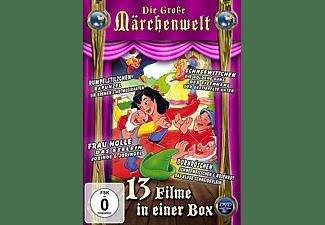 Die große Märchenwelt (Schneewittchen, Die goldene Gans, Eisenhans, Der gestiefelte Kater ) DVD