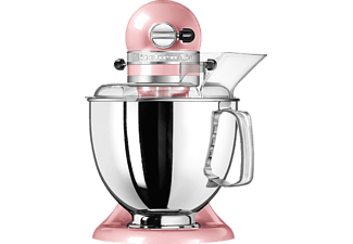 KITCHENAID 5KSM175PSESP Artisan Küchenmaschine Silk Seiden Pink (Rührschüsselkapazität: 4,8 Liter, 300 Watt)