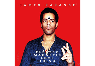 James Kakande - Electro Magnetic Love Thing  - (CD)