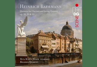 Belenus Quartett, Rita Karin Meier - Klarinettenquintette  - (SACD Hybrid)