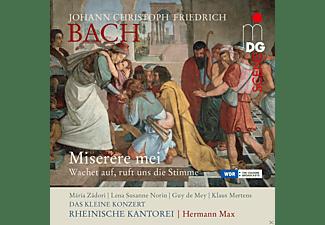 Rheinische Kantorei, Hermann Max, Das Kleine Konzert - Miserere mei - Wachet auf ruft uns die Stimme  - (CD)