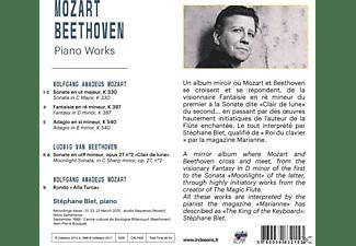 Blet Stephane - Blet spielt Mozart und Beethoven  - (CD)