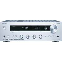 ONKYO TX-8270 Netzwerk-Receiver (2 Kanäle, Silber)