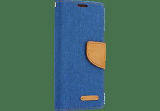 AGM Bookstyle Fashion, Bookcover, Samsung, Galaxy S8, Blau/Braun
