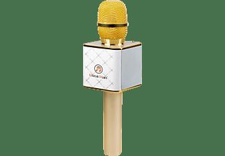 TECHNAXX BT-X31 Mikrofon Weiß/Gold