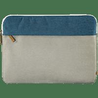 HAMA Florenz Notebookhülle, Sleeve, 13.3 Zoll, Grau/Petrol