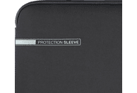 HAMA Neoprene Notebookhülle, Sleeve, 15.6 Zoll, Grau/Rot
