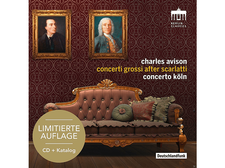 Concerto Köln - Concerti Grossi After Scarlatti-Sonderedition [CD]