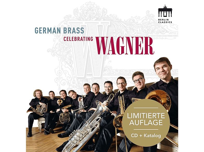 German Brass - Celebrating Wagner-Sonderedition [CD]