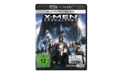 X-Men Apocalypse [4K Ultra HD Blu-ray + Blu-ray]