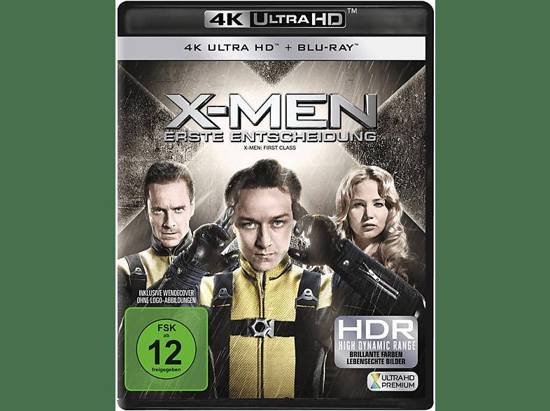 X-Men - Erste Entscheidung [4K Ultra HD Blu-ray + Blu-ray]