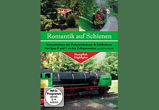 Dampflok Highlights Gartenbahnen mit Parkeisenbahnen & Feldbahnen DVD