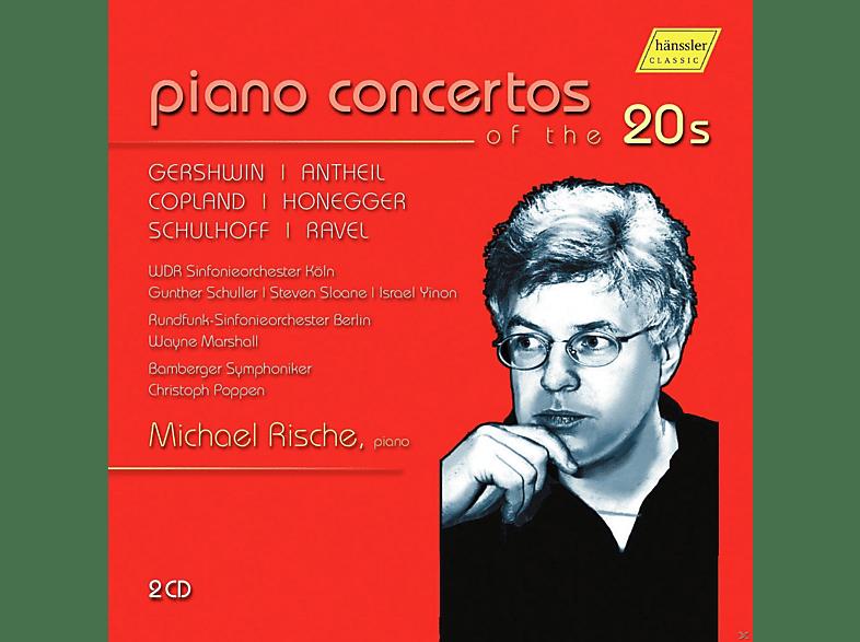 Michael Rische, Wdr Sinfonieorchester Köln, Rundfunk-sinfonieorchester Berlin - Klavierkonzerte der 20er Jahre [CD]