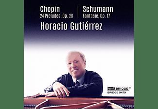 Horacio Gutierrez - Chopin & Schumann  - (CD)
