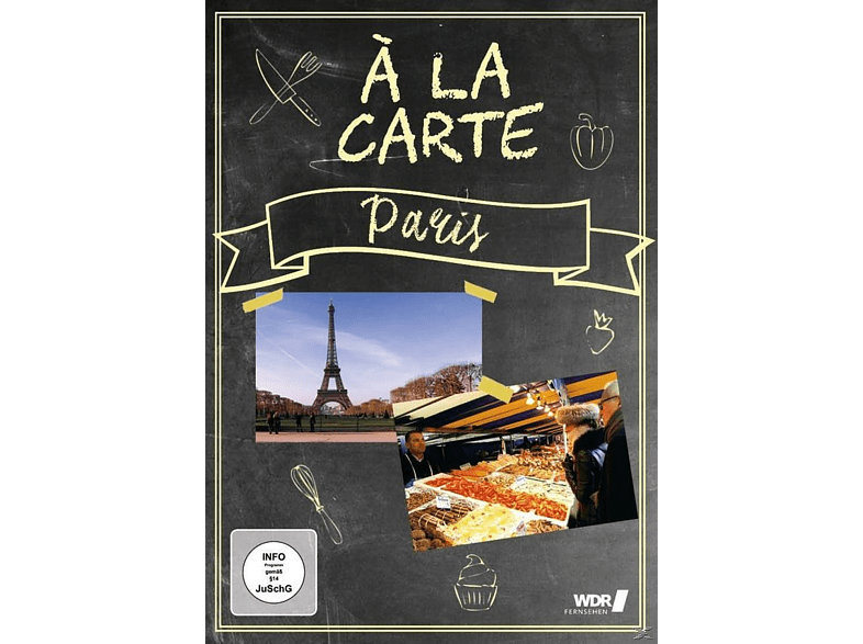 Paris a la carte [DVD]
