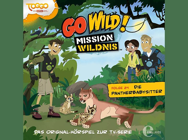 Go Wild!-mission Wildnis - (24)Original HSP z.TV-Serie-Pantherbabysitter - (CD)