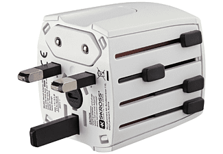 Adaptador enchufe - Hama MUV, Micro, Universal, Blanco