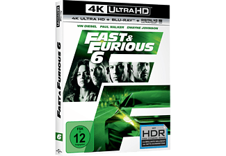 Fast & Furious 6 [4K Ultra HD Blu-ray + Blu-ray]