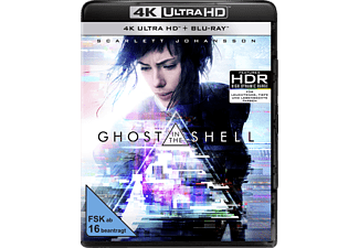 Ghost in the Shell 4K Ultra HD Blu-ray + Blu-ray