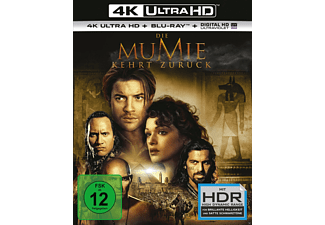 Die Mumie kehrt zurück  4K Ultra HD Blu-ray + Blu-ray