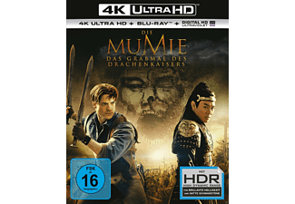Die Mumie: Das Grabmal des Drachenkaisers 4K Ultra HD Blu-ray + Blu-ray