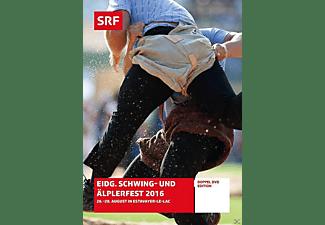 Eidg.Schwing-und Äplerfest 2016 - 26.-28. August in Estavayer-Le-Lac DVD
