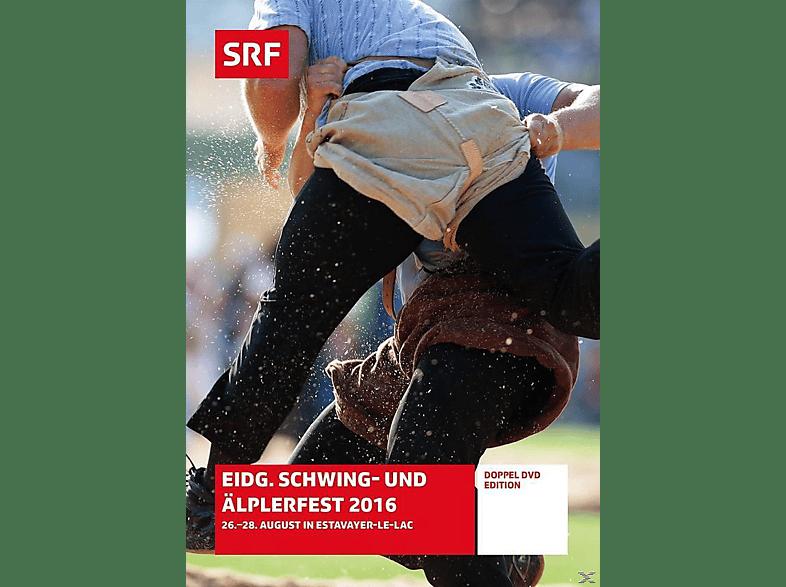 Eidg.Schwing-und Äplerfest 2016 - 26.-28. August in Estavayer-Le-Lac [DVD]