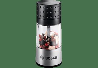 BOSCH 1600A001YE Gewürzmühlenaufsatz, Schwarz/Silber