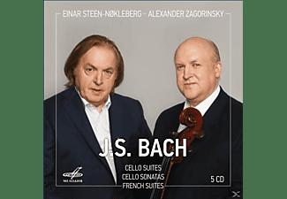 Steen-Nokleberg,Einar/Zagorinsky,Alexander - Cellosuiten/Cellosonaten/Französische Suiten  - (CD)