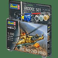 REVELL Model Set Mil Mi-24D Hind Spielwaren, Mehrfarbig