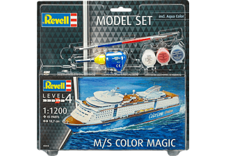 REVELL Model Set M/S Color Magic Modellbausatz, Mehrfarbig