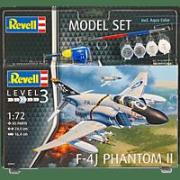 REVELL Model Set F-4J Phantom II Spielwaren, Mehrfarbig