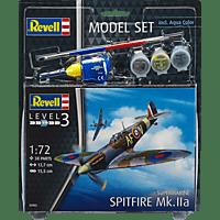 REVELL Model Set Spitfire Mk.IIa Spielwaren, Mehrfarbig