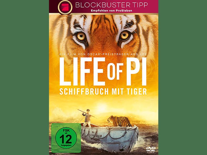 Life Of Pi - Schiffbruch mit Tiger [DVD]
