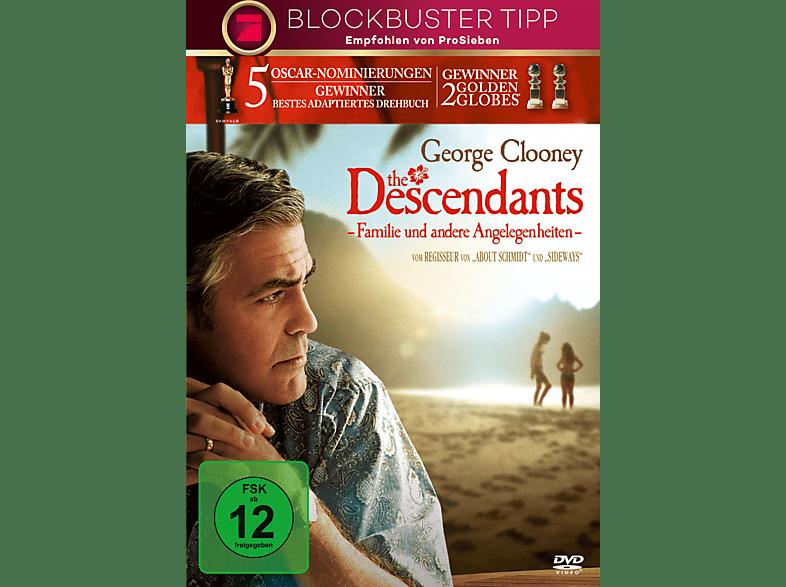 The Descendants – Familie und andere Angelegenheiten [DVD]