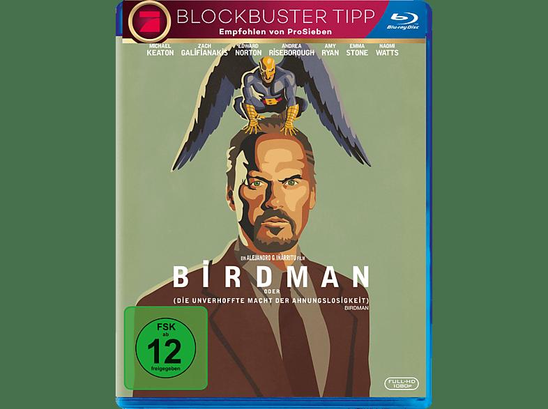 Birdman oder (die unverhoffte Macht der Ahnungslosigkeit) [Blu-ray]