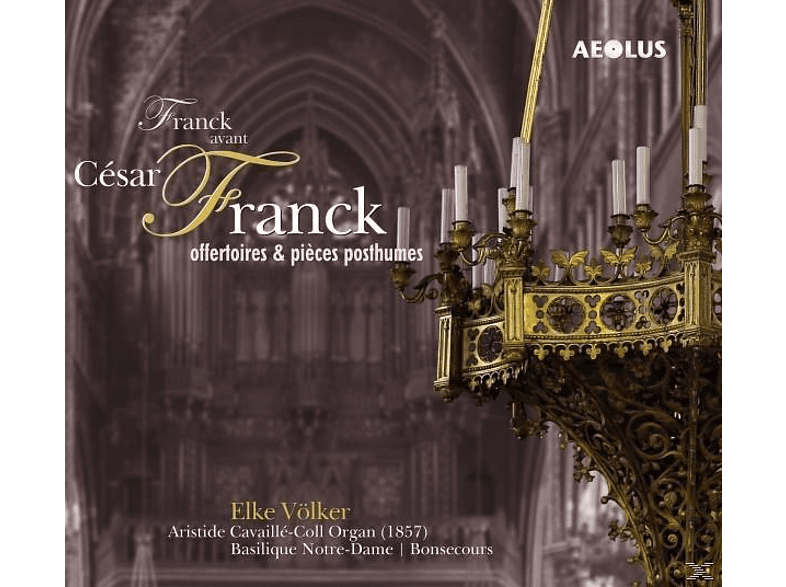 Elke Völker - Franck avant Cesar Franck [CD]