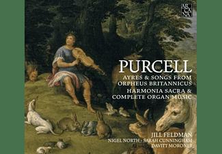 Feldman,J./North,N./Cunningham,S./Moroney,D. - Ayres and Songs from Orpheus Britannicus/+  - (CD)