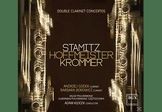 Andrzej Godek, Barbara Borowicz, Kalisz Philharmonic, Huberman Philharmonic Orchestra - Doppelklarinettenkonzerte  - (CD)